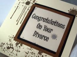 congratulations on your divorce card congratulations on your divorce card by sweetandsassycards on etsy