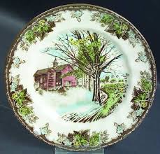 50th anniversary plates johnson brothers friendly 50th anniversary at