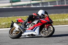 launch ride 2017 honda cbr1000rr sp morebikes