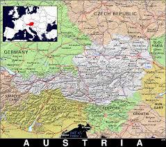 Austria Map At Austria Public Domain Maps By Pat The Free Open Source