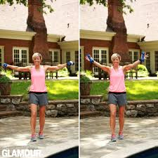 carrie underwood workout arm chest back