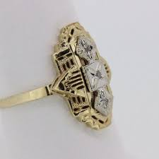 shop yellow gold right hand diamond rings on wanelo
