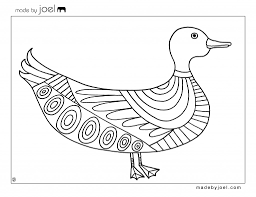 trend duck coloring page 32 for your coloring pages for kids