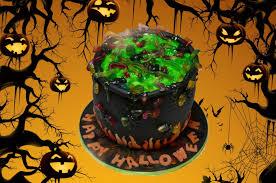 Halloween Party Cake by