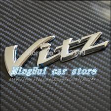 toyota yaris emblem 3d toyota vitz sticker badge emblem car logo car styling fit