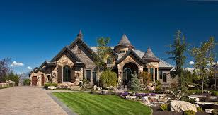 texas chateau home decor nice alternative to turret at front entry dramatically flared