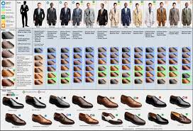 matching shoes for him and a visual guide to matching suits and dress shoes business insider