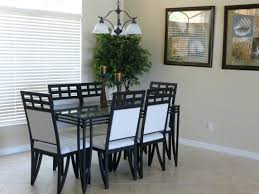 dining room chair glass dining room table and chairs rustic