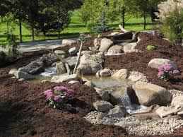 backyard streams u0026 waterfalls premiere aquascapes