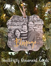 sneak peek our shutterfly ornament cards one artsy