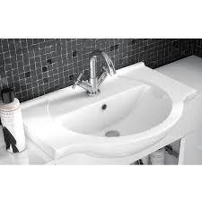 750mm Vanity Units For Bathroom by Premier Mayford Vanity Unit Vty750 721mm Floor Mounted White