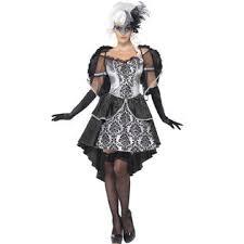 Ball Gown Halloween Costumes Smiffy U0027s Burlesque Dark Angel Masquerade Ball Gown Halloween