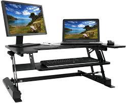 Desk For Dual Monitor Setup Office Captivating Adjustable Standing Desk Monitor Innovative