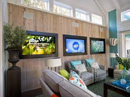 how to set up a media room hgtv