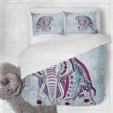 elephant bedding bohemian elephant duvet cover set elephant