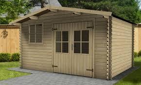 cabane jardin abri de jardin kiwi 28 mm 14m oogarden