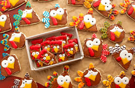 turkey cookies for thanksgiving turkey nugget cookies poor turkeys the bearfoot baker