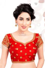readymade blouse attractive color stitched readymade blouse