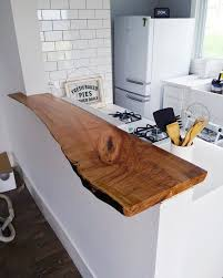 kitchen bar top ideas best 25 live edge bar ideas on live edge wood
