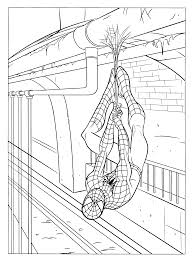 coloring page spiderman 3 coloring pages 7