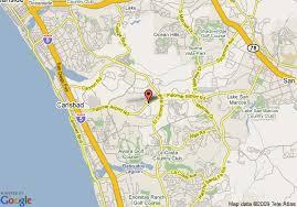 california map carlsbad map of hton inn carlsbad san diego county ca carlsbad