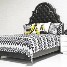 Black And White Chevron Bedding Zigzag Layered Bed Set West Elm