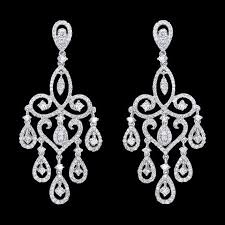 chandelier diamonds 35 best chandelier earrings images on diamond