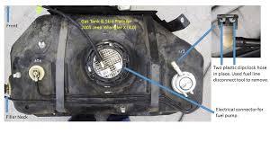 gas cap light jeep tj fuel pump replacement write up jeep wrangler forum