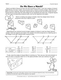 Similar And Congruent Figures Worksheet Figures Quotes Like Success
