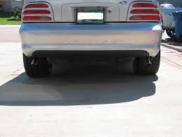 95 mustang gt rear end cool idea for lx bumper to house foglights ford mustang forum