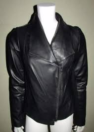 lightweight motorcycle jacket vince women designer lamb leather motorcycle jacket large black