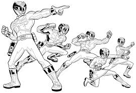 coloring pages power rangers megaforce coloring