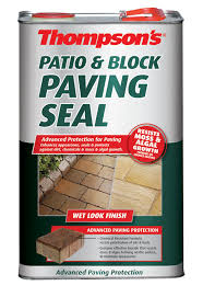 Patio Stone Sealer Review Thompson U0027s Paving Seal 5000 Ml Departments Diy At B U0026q