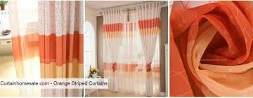 Orange Striped Curtains Beautiful Cheap Curtains Curtains Topics Events 2015 At