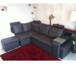 dark grey leather sofa real leather sofa bed couch and sofa set