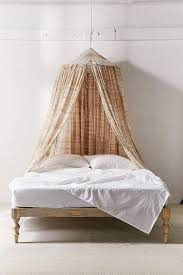 Boho Bed Canopy Brown Tie Dye Bed Canopy