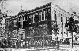 St Joseph Home by Mystorical 1912 Blessing Of St Joseph Orphanage Bethany Oklahoma