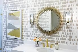 gold bathrooms gray and gold bathroom design ideas