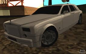rolls royce phantom gold rolls royce for gta san andreas