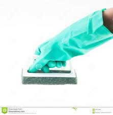 Floor Hand by Scrub Brush The Bathroom Floor Stock Photo Image 63619890