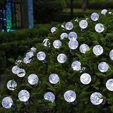 solar globe lights garden garden globe lights ebay