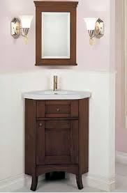 Bathroom  Best Corner Bathrooms Vanities Images On Pinterest - Corner bathroom sink and cabinet