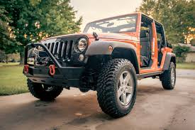 jeep wrangler orange matte black jeep emblem