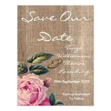 Rustic Save The Date Cards Rustic Violet Blue Elegant Floral Save The Date Wedding Card