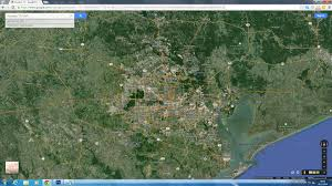 Google United States Map by Houston Texas Map