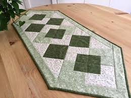 sage green table runner green table runner handmade sage green patchwork quilted tablecloth