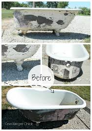 Bathtub Paint Peeling Cast Iron Bathtub To Outdoor Sofa Part 1 Onekriegerchick