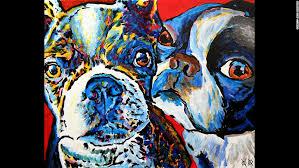Dog Going Blind What To Do Painting Allows Blind Artist To See A World Of Color Cnn