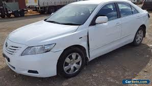 toyota camry altise for sale 2007 toyota camry altise sedan auto light damage repairable