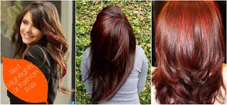 highlights for dark brown hair fall best haircut style